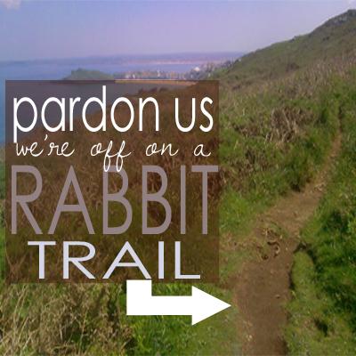 Rabbit trail - Homeschool Legacy